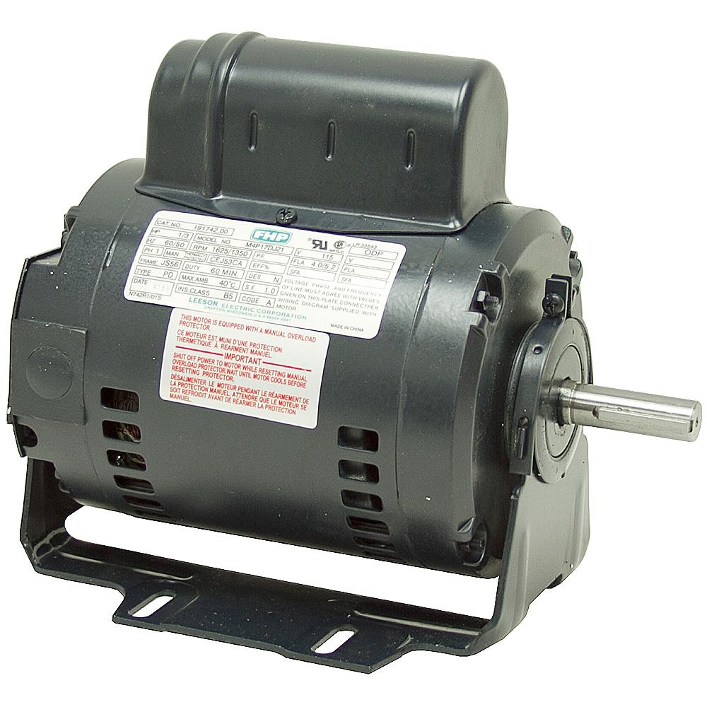 1 3 Hp 1625 Rpm 115 Volt Ac Instant Reversing Motor Res Base Ac Motors Base Mount Ac Single Phase Motors Electrical Www Surpluscenter Com