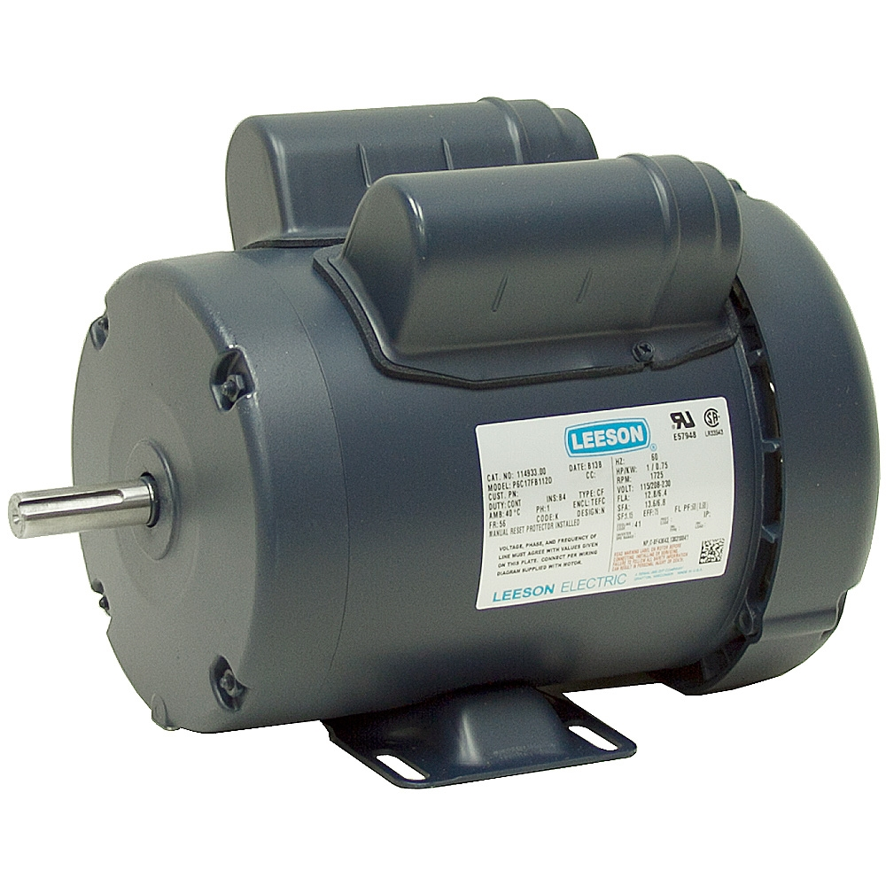 1 hp 1725 rpm 115 208 230 vac instant rev motor ac for 1 hp motor rpm