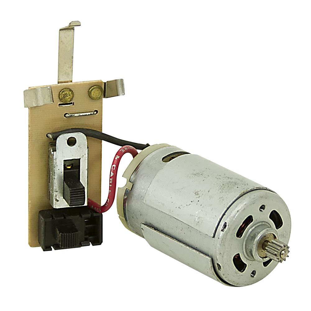 10000 RPM 6/12 Volt DC Johnson Motor w/Switches 64680 374922