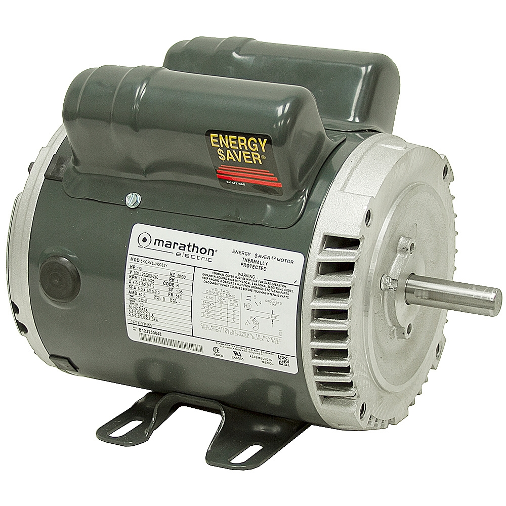 1 3 hp 1725 1425 rpm 100 120 200 240 volt ac motor for 200 horsepower electric motor