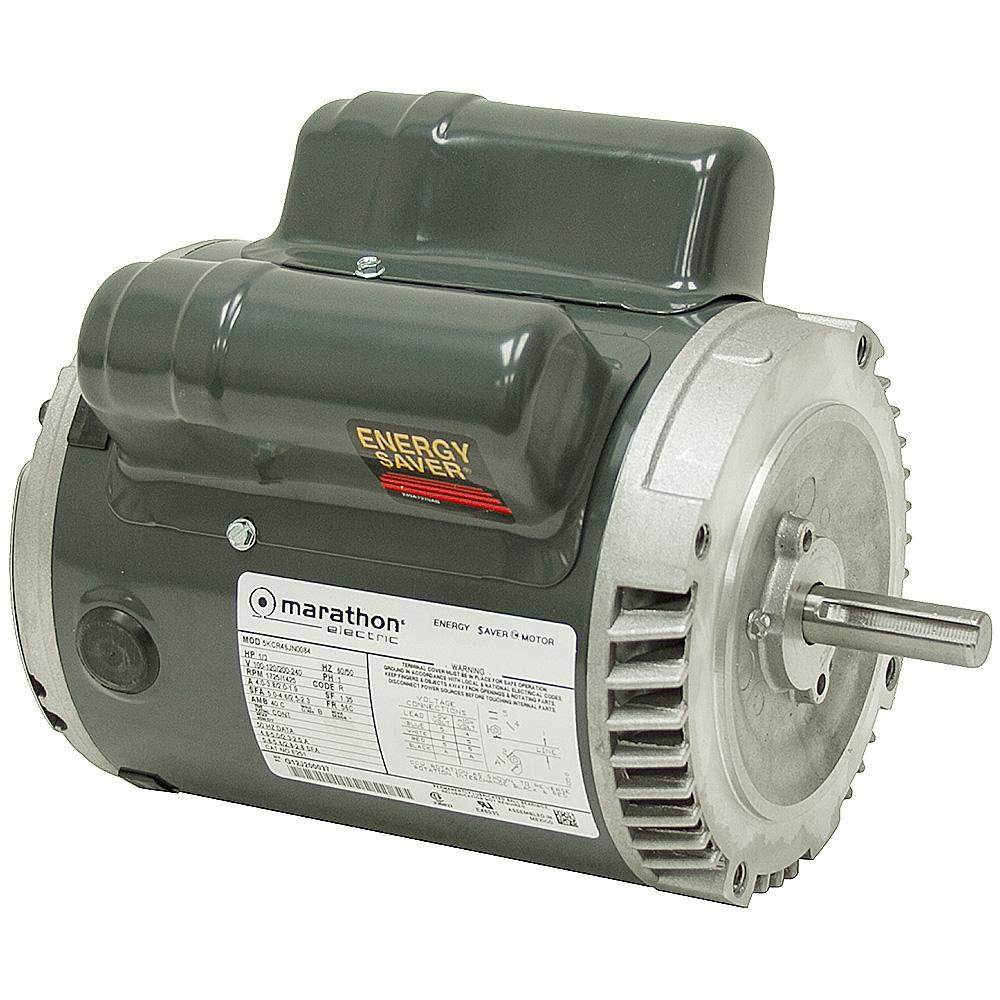 1 3 Hp 1725 Rpm 100 120 200 240 Vac 56c Marathon Motor