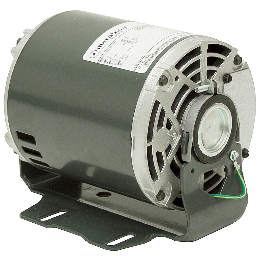 1 6 hp 1725 rpm marathon fan motor ac motors base mount for Ac motor 1 hp