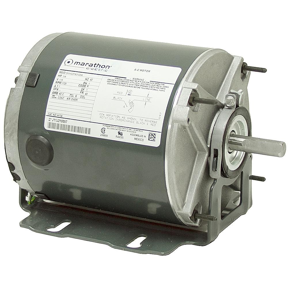 1 4 hp 1725 rpm 115 vac marathon motor teao ac motors for 1 10 hp motor