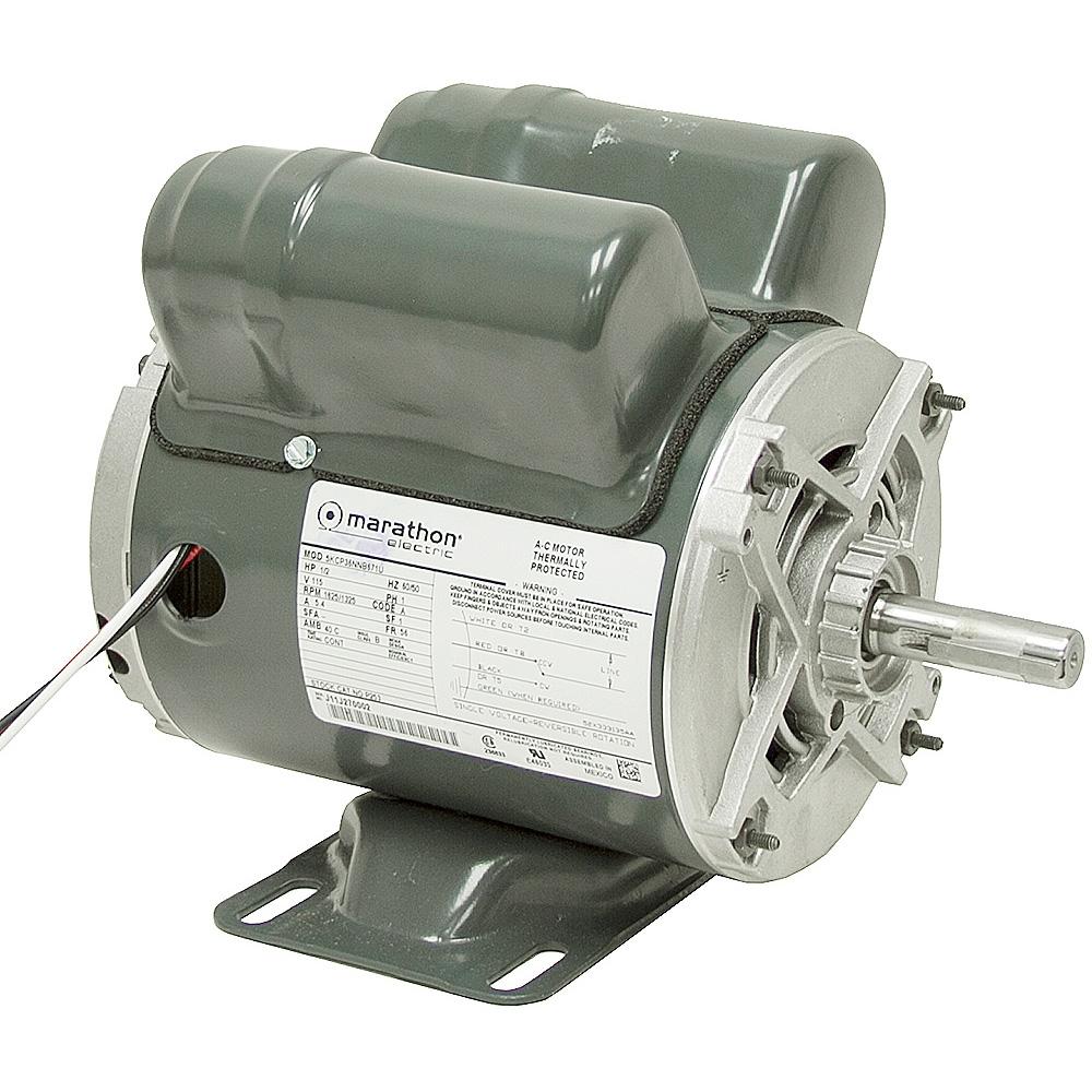 1 2 Hp 1625 Rpm Marathon Motor Instant Reverse Ac Motors