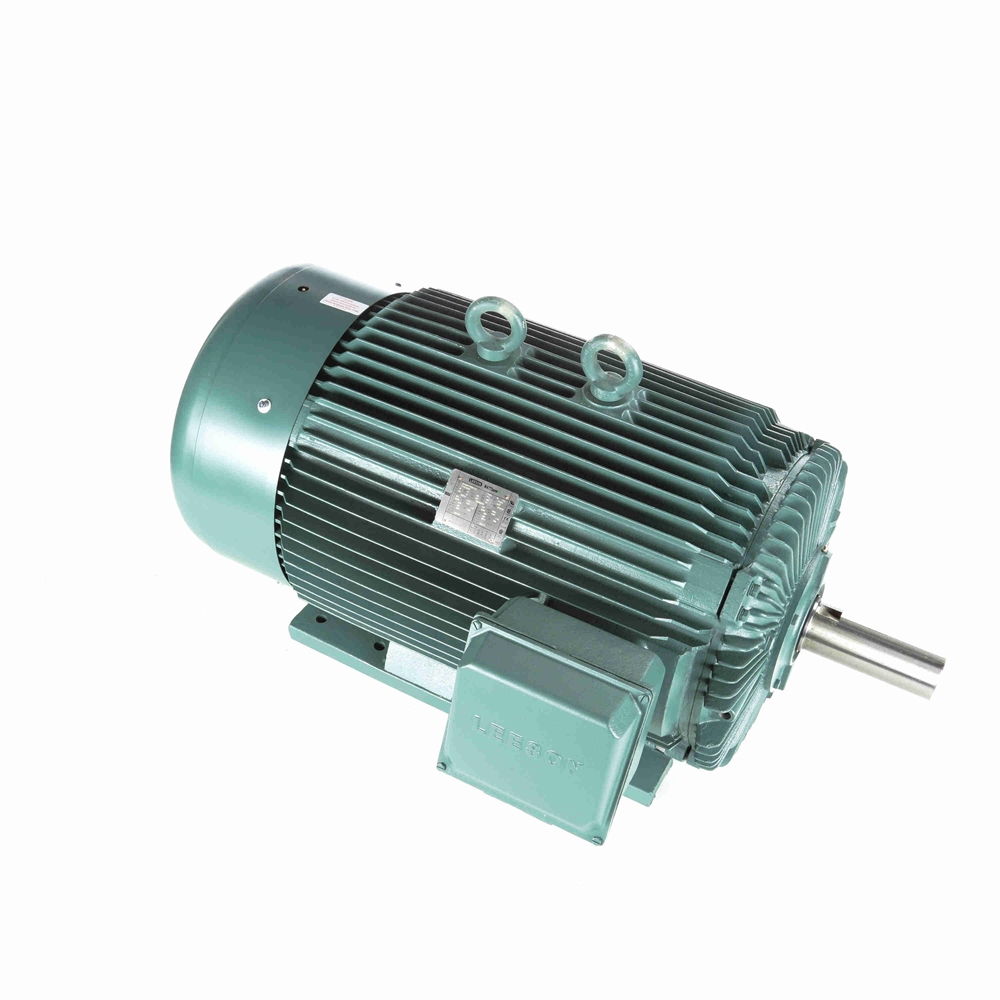 250 HP 1800 RPM 460 Volt AC 3Ph 449T Leeson Motor | 3 Phase Motors ...