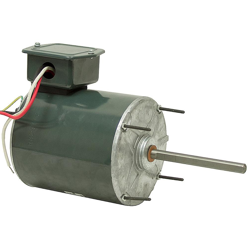 1 4 Hp 1075 Rpm 115 Vac Ge Two Speed Fan Motor Fan Air