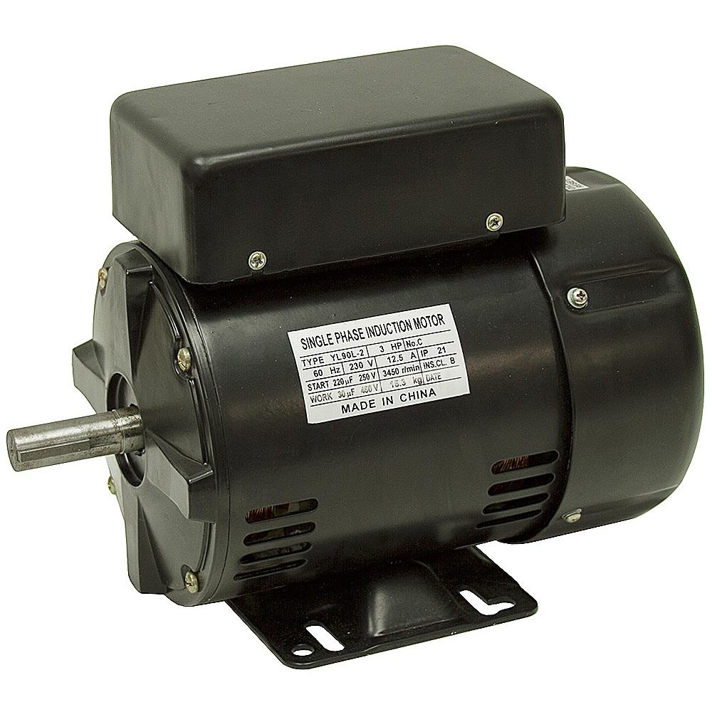 3 Hp 230 Vac 3450 Rpm Compressor Motor Yl90l 2 Ac Motors