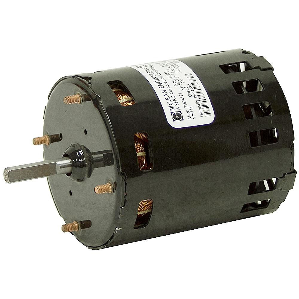 3290 Rpm 115 Vac Fan Motor Fan Air Conditioner Motors