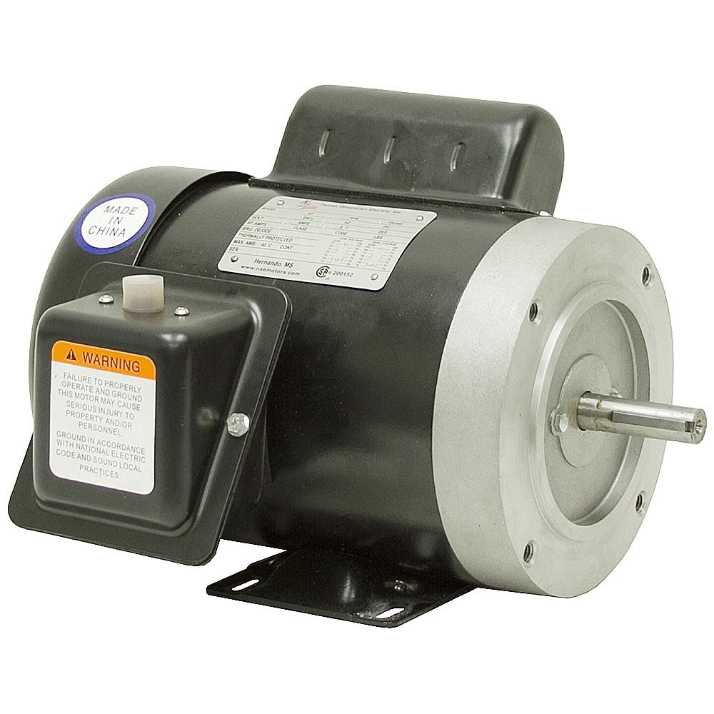 1 3 hp 1800 rpm 115 230 volt ac motor tefc ac motors for 1 hp motor rpm