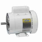 1/2 HP 1800 RPM 115/230 Volt AC Leeson Washguard 112527.00 White Epoxy Coated
