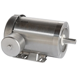 1/2 HP 3600 RPM 115/230 Volt AC Leeson Washguard 116344.00 Stainless Steel
