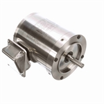 1/2 HP 1800 RPM 208-230/460 VAC 3 PH  LEESON WASHGUARD 191205.00 STAINLESS STEEL