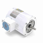 1/2 HP 1800 RPM 208-230/460 Volt AC 3Ph Leeson Washguard 113473.00 White Epoxy Coated