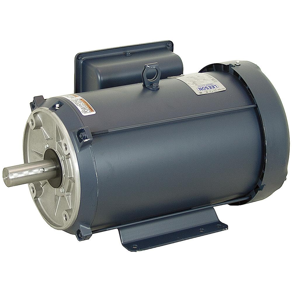 7 5 Hp 1800 Rpm 230 Vac 215tc Leeson Motor Ac