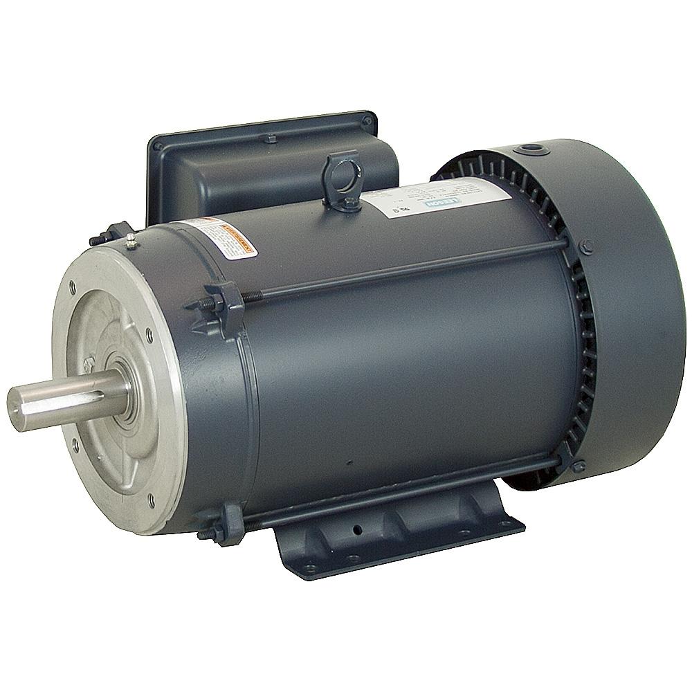 10 Hp 3600 Rpm 208 230 Vac 215tc Leeson Motor