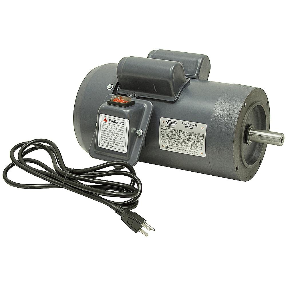 1 hp 3450 rpm 115 volt ac motor 143tc w 1 4 key ac for 1 hp motor rpm