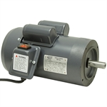 "1 HP 3450 RPM 115 Volt AC Motor 143TC w/1/4"" Key"