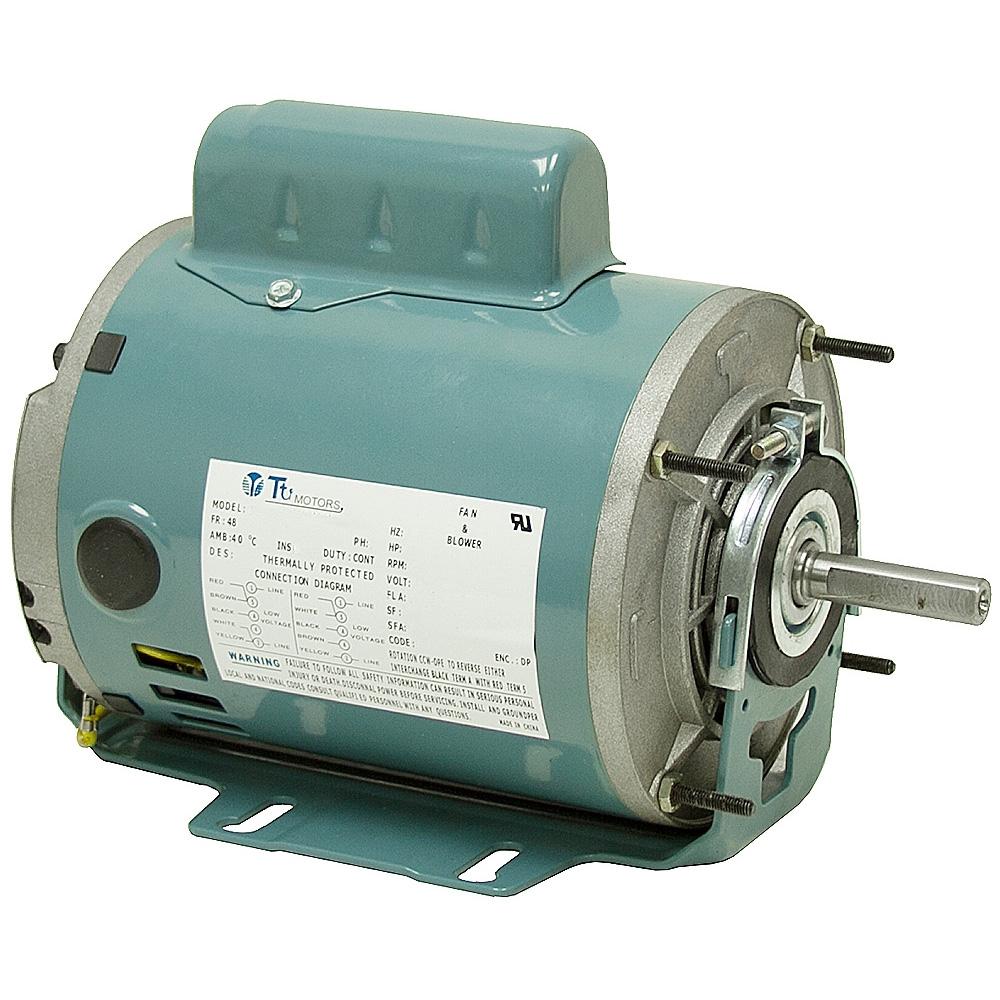 1 6 hp 1725 rpm 115 208 230 vac motor ac motors base for 1 10 hp motor