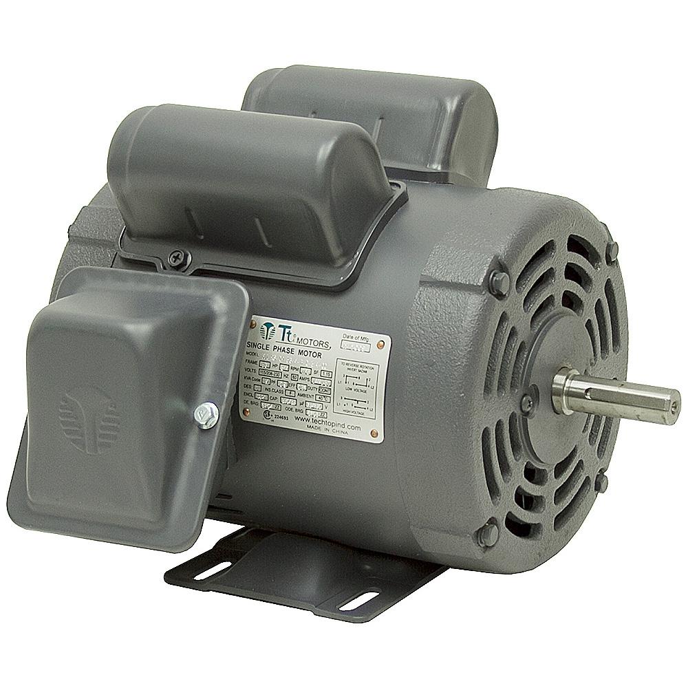 3 4 hp 3450 rpm 115 208 230 vac farm duty motor ac for Farm duty electric motor