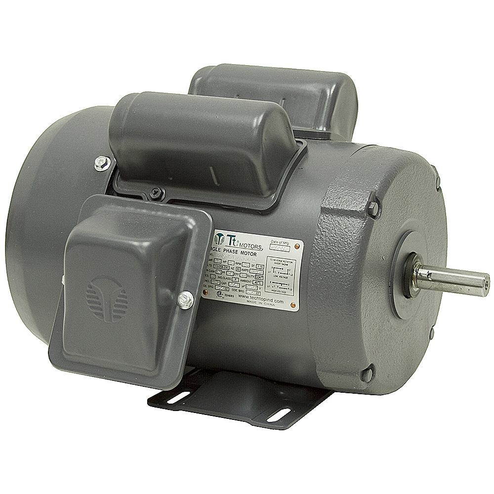 1 2 hp 3450 rpm 115 208 230 vac 56 tefc motor ac motors for 1 1 2 hp electric motor