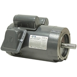 1 HP 1730 RPM 115/230 Volt AC Motor 143TC