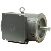 5 HP 3460 RPM 208-230 Volt AC 184TC Motor