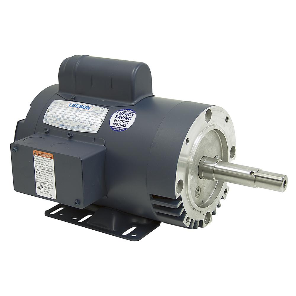 2 hp 3450 rpm 115 208 230 vac leeson pump motor f13b for 2 hp pool pump motor