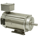 1/3 HP 1750 RPM 180 Volt DC Leeson SS Motor