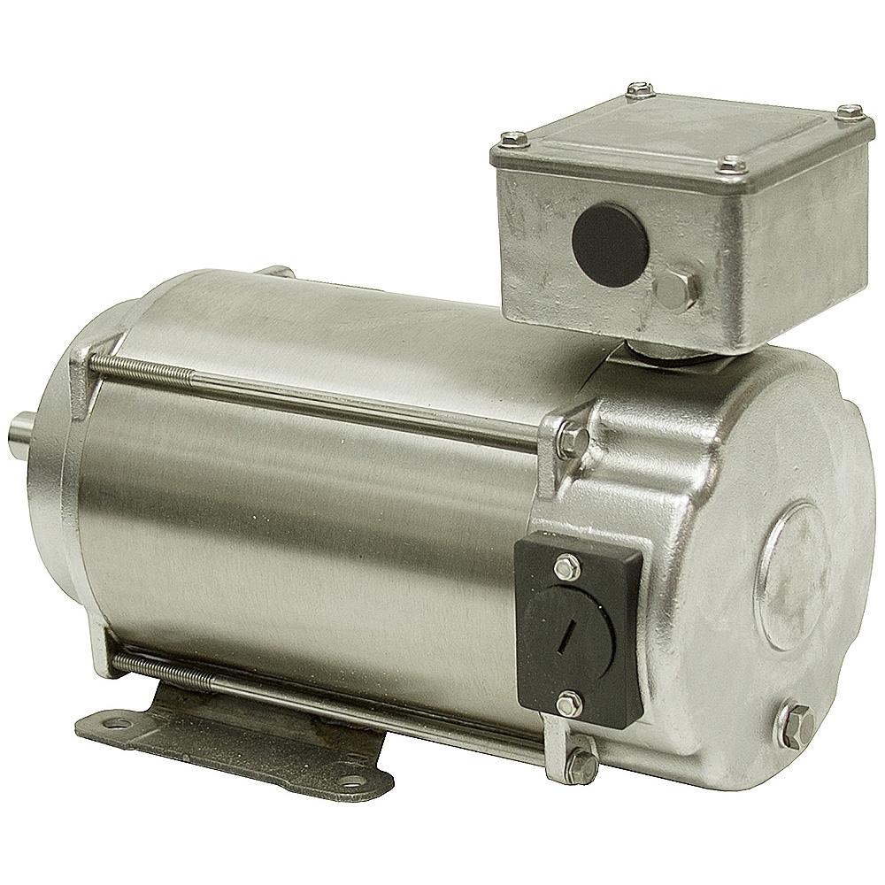 3 4 Hp 1750 Rpm 180 Vdc Leeson Ss Motor Dc Motors Base