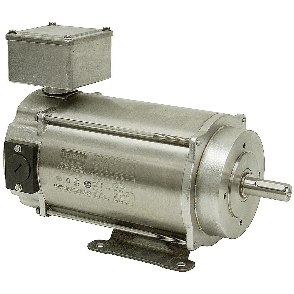 3 4 hp 1750 rpm 180 vdc leeson ss motor dc motors base for 4 horsepower dc motor