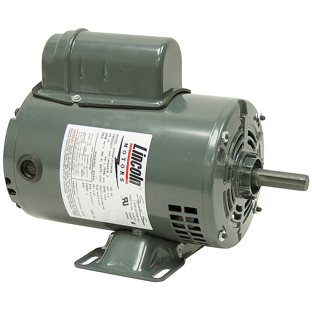 1 2 Hp 1725 Rpm 115 230 Vac Motor Lincoln Motors Lm24551