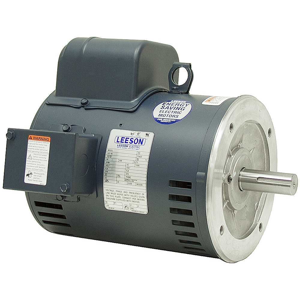 3 Hp 1740 Rpm 115 230 Vac Motor Leeson Electric C184c17dc5