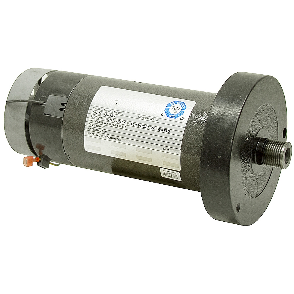 Hp icon health and fitness treadmill motor m 326339 for 25 hp dc motor