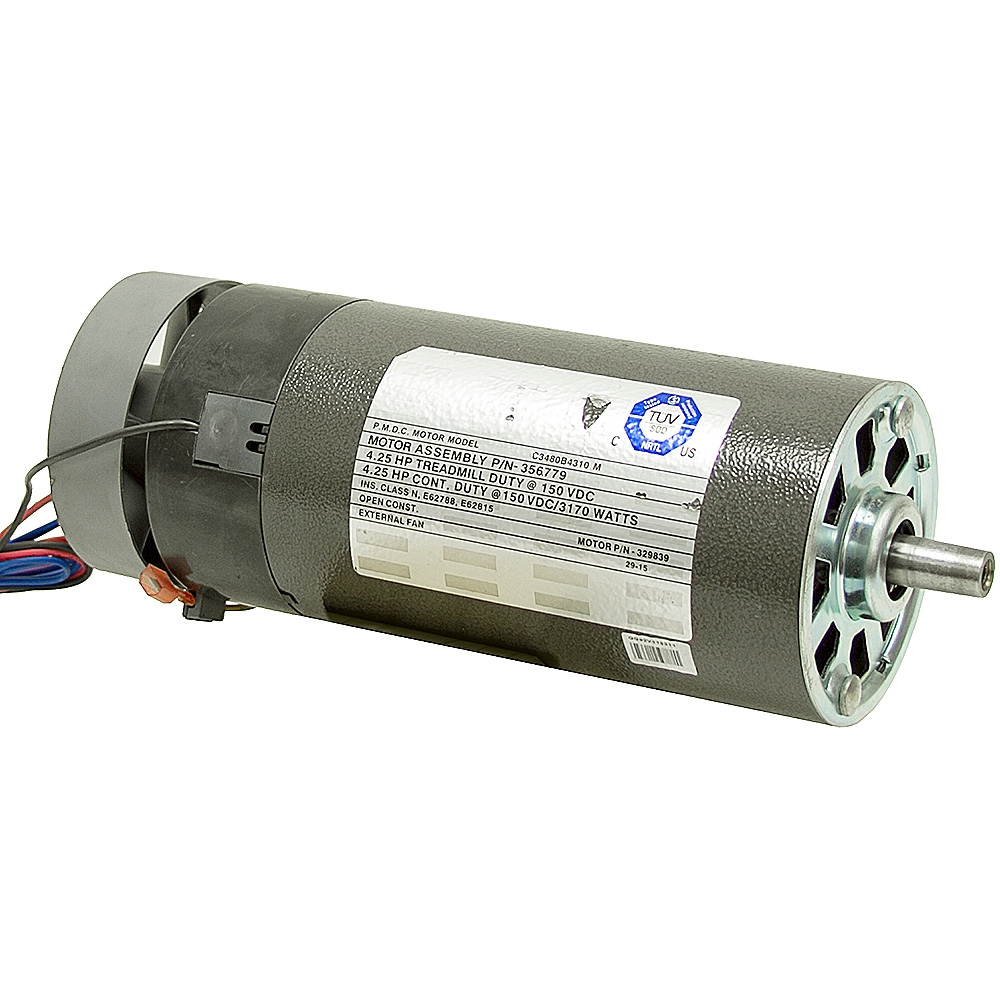Hp icon health and fitness treadmill motor 329839 for 4 horsepower dc motor