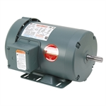 1 HP 1800 RPM 230/460 Volt AC 3Ph 56 Leeson Motor