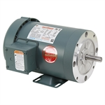 1 HP 1800 RPM 230/460 Volt AC 3Ph 56C Leeson Motor