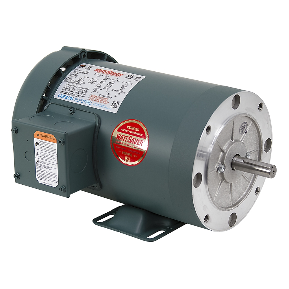 1 1 2 hp 1800 rpm 230 460 vac 3ph 56c leeson motor 3 for 10 hp 3 phase motor