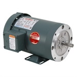 1-1/2 HP 1800 RPM 230/460 Volt AC 3Ph 56C Leeson Motor