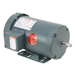 2 HP 1800 RPM 230/460 Volt AC 3Ph 56H Leeson Motor