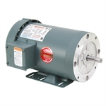 2 HP 1800 RPM 230/460 Volt AC 3Ph 56C Leeson Motor