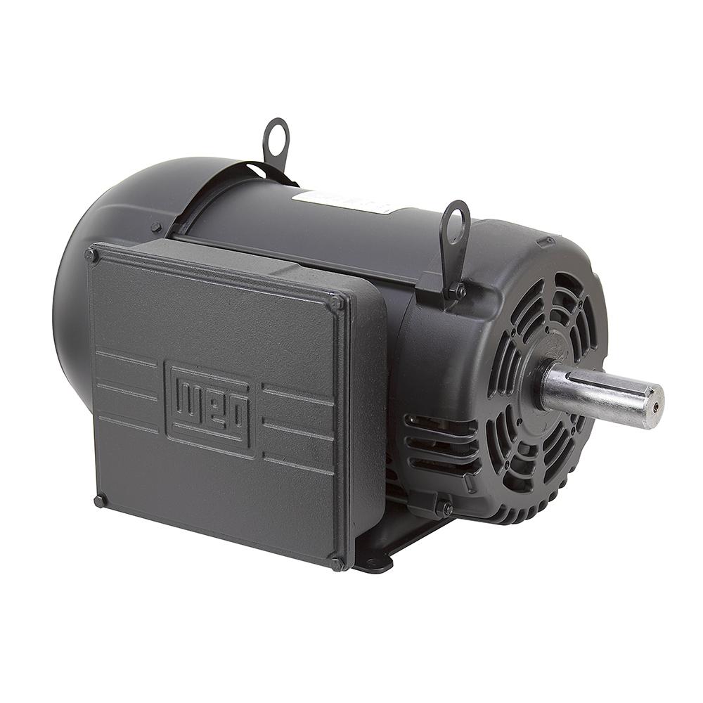 7 5 hp 230 volt ac 1800 rpm weg compressor motor ac for Weg motors technical support