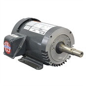 1.5 HP 1730 RPM 208-230/460 Volt AC 3PH US Motors Electric Motor
