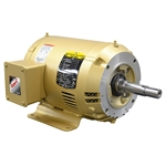 5 HP 3450 RPM 208-230/460 Volt AC 3PH Baldor Motor