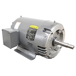7.5 HP 2870 RPM 208/415 Volt AC 3Ph Baldor Motor