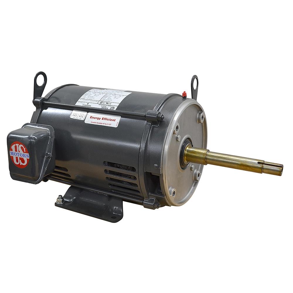 7 5 HP 1765 RPM 230/460 Volt AC 3 PH US Motors Electric Motor