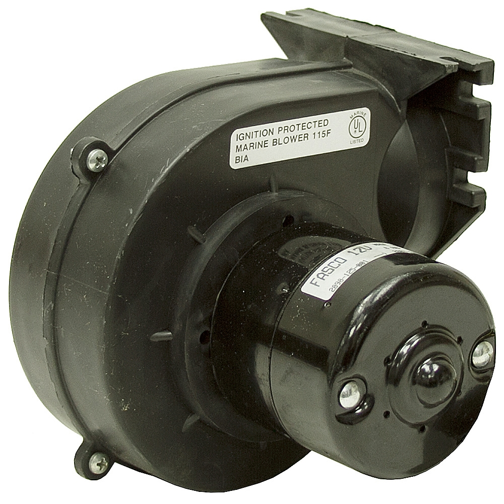 12 vdc ignition protected marine blower motor 115f fasco for Fasco motors and blowers