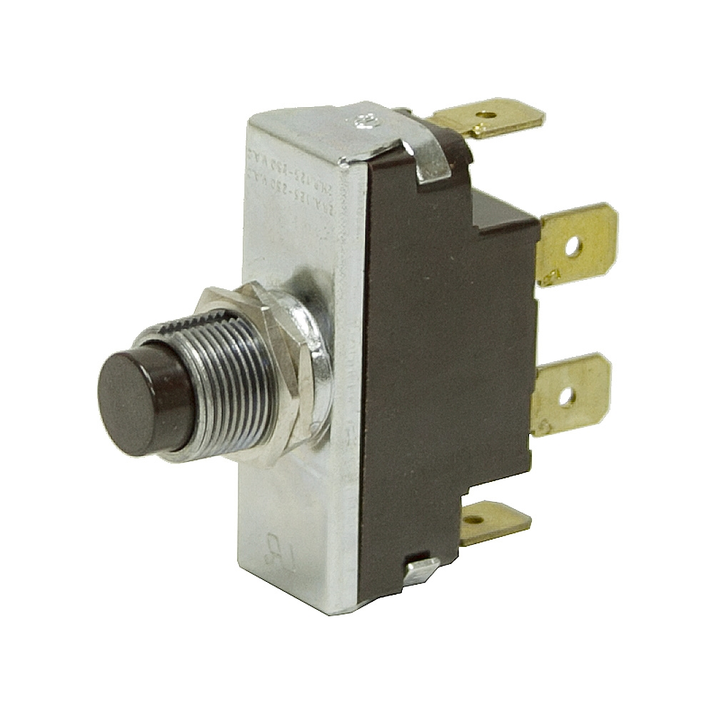 DPST 24A 125-250V Pushbutton Switch 19080100 | Pushbutton Switches ...