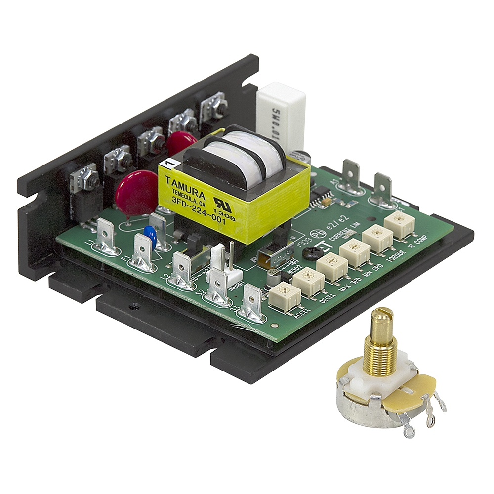 90 180 Vdc Speed Control W Pot Motor Speed Controllers