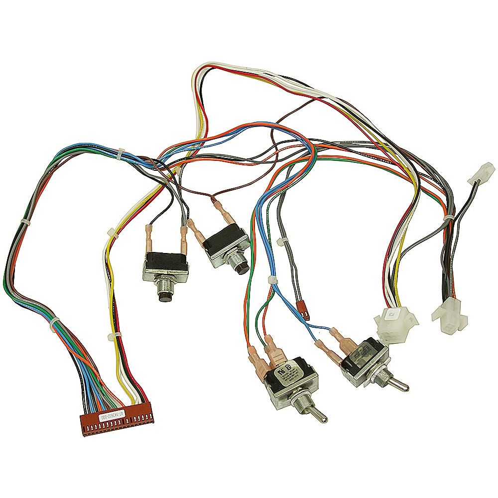 Toggle/PB Switch & Wiring Harness Assembly