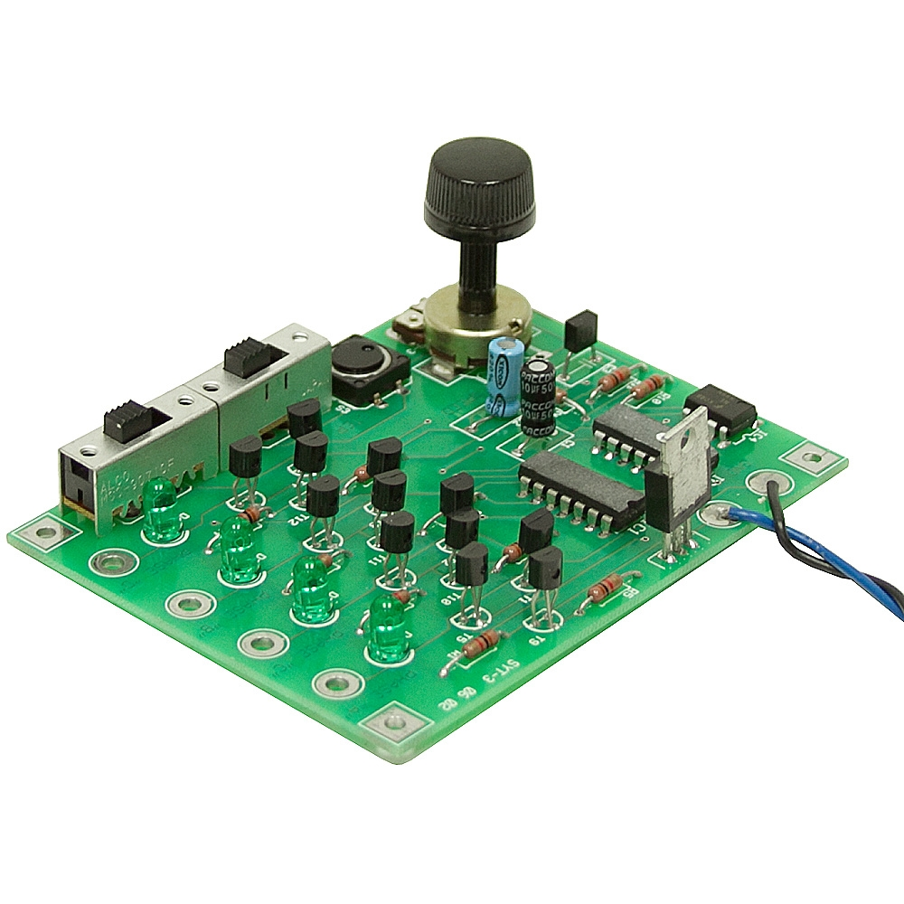 Speed control stepper motor for 12v dc motor controller